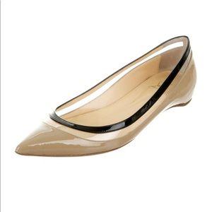 Christian Louboutin Patent Ballet Flats, Paulina